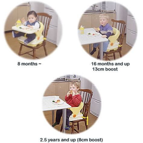 Richell Baby Booster 1 richell booster seat babyonline