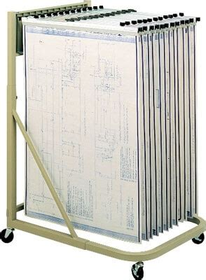 Safco Blueprint Rack by Safeco Mobile Blueprint Stand 5026 Safco Blueprint Rack