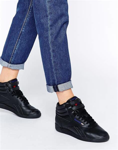 Reebok Free Style High Black imagen 1 de zapatillas hi top cl 225 sicas en negro free style