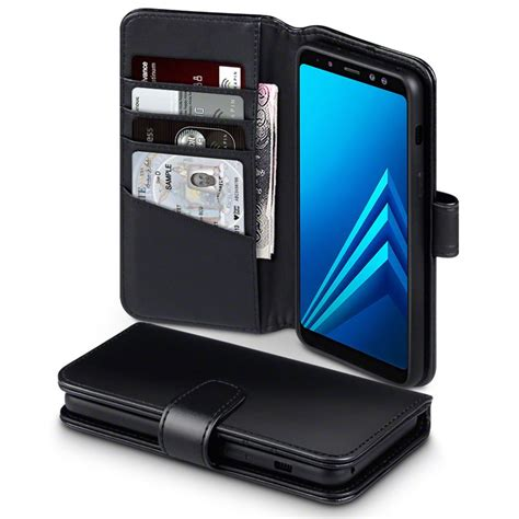 Samsung A8 Series 2018 samsung galaxy a8 2018 genuine leather wallet