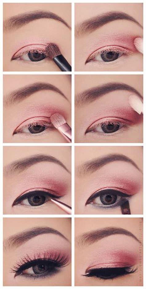 tutorial makeup eyeshadow pink 12 colorful eyeshadow tutorials for beginners like you