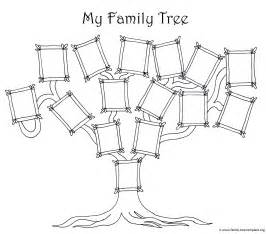family tree template for pages coloring page for a simple family tree chart