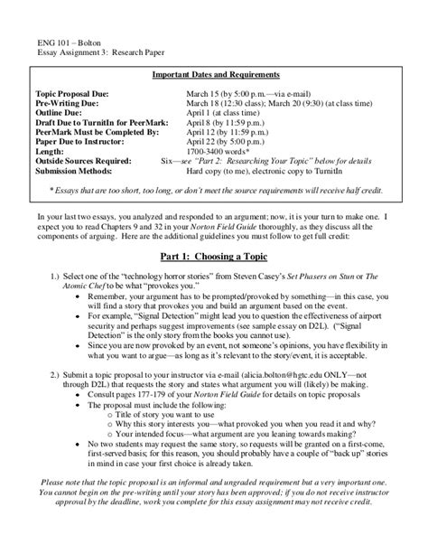 research paper assignment sheet 3 research paper assignment