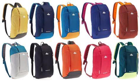 Tas Ransel Decathlon jual tas backpack daypack quechua arpenaz 10 blue baru