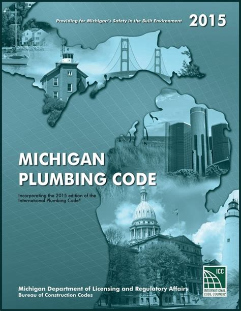 Michigan Plumbing Code by 2015 Michigan Plumbing Code 9781609836818