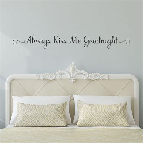 always me goodnight wall stickers always me goodnight wall quotes decal wallquotes