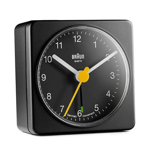 braun analog alarm clock shop cooper hewitt