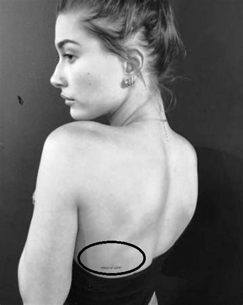 Hailey Baldwin's 17 Tattoos & Their Meanings – Body Art Guru