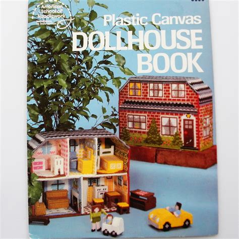 plastic canvas doll house dollhouse book plastic canvas pattern doll house furniture