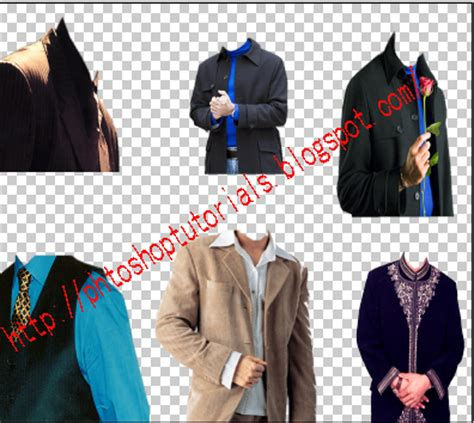 photoshop costume templates free mens clothes psd file