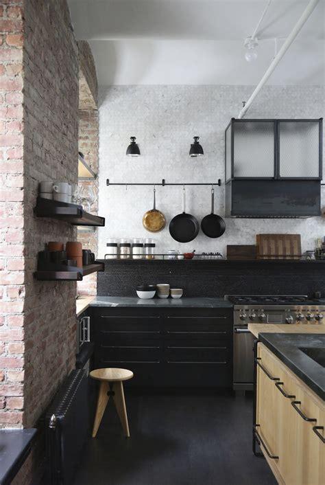 new york loft kitchen design a rugged rustic nyc loft by matt of union studio