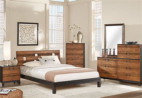 gardenia black 5 pc queen platform bedroom queen bedroom sets colors gardenia honey 8 pc queen platform bedroom contemporary