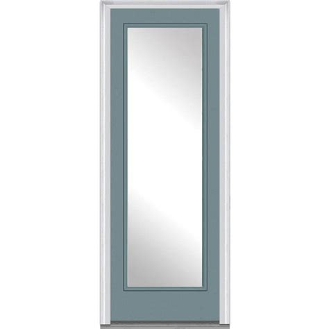 36 Exterior Door With Window 36 X 96 Steel Doors Front Doors Exterior Doors The Home Depot