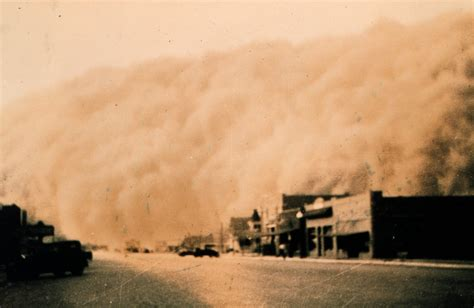 A In The Dust dust bowl photographs