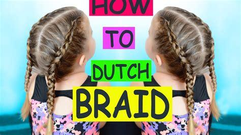 dutch braid hair tutorial  beginners toddler hair youtube
