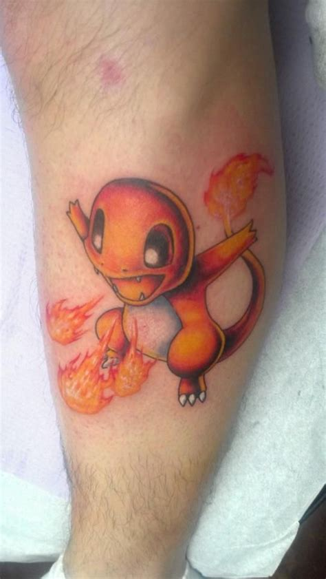 charmander tattoo charmander marc s