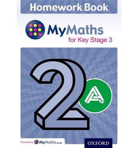 mymaths for key stage 019830448x mymaths for key stage 3 homework book 2a pack of 15