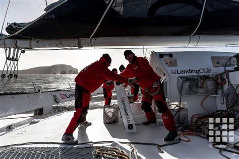 trimaran world speed record maxi trimaran lending club 2 sets new speed sailing world