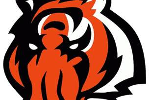 bengals colors themed bengals logo cincy jungle