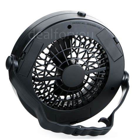 gazebo fan with hook portable outdoor cing travelling led fan light tent