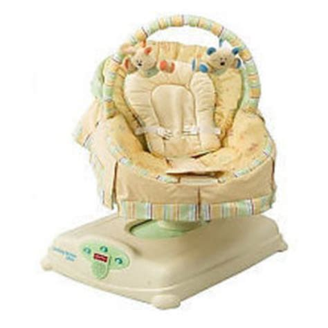 baby glider swing fisher price soothing motions glider baby swing j1314