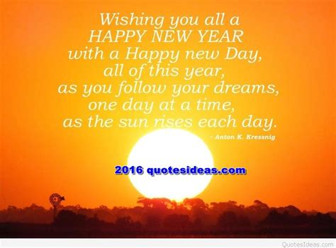 new year day follow dreams sun rises motivational message