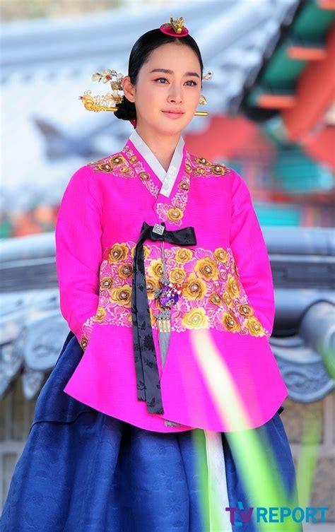 Baju Hanbok Jang Ok Jung beautiful beautiful hanbok kbeat