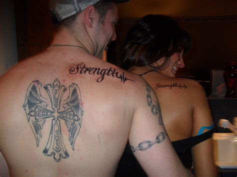 brother and sister tattoo and random
