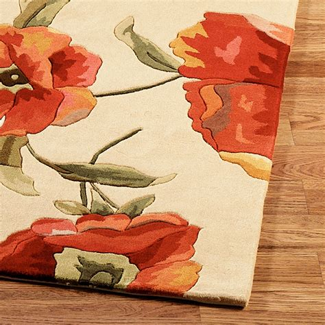 Poppy Area Rug Poppies Area Rugs