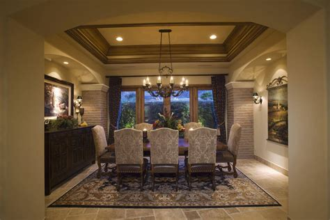 Custom Ceiling Designs by 126 Custom Luxury Dining Room Interior Designs