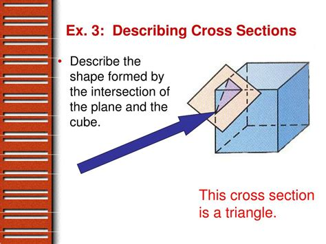 describe the cross section ppt 12 1 exploring solids powerpoint presentation id