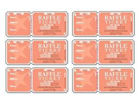 sle ticket template for events raffle tickets 6 per page templates office