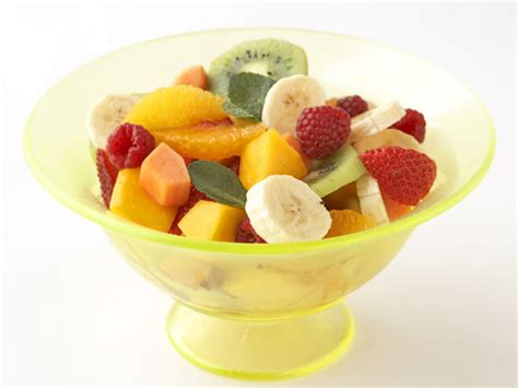 fresh fruit and mint salad recipe food network kitchen food network