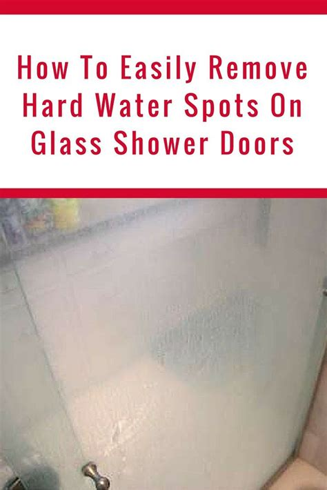 how to clean glass shower doors how to clean glass shower doors with water stains