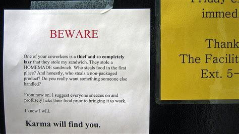 a room how to stop thieves how do you stop from stealing your food from the shared fridge lifehacker australia