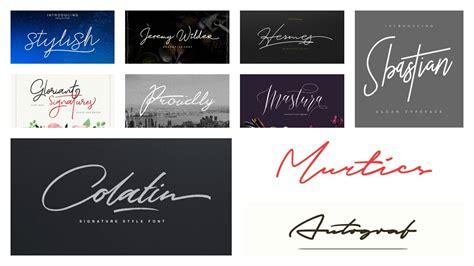 tattoo font signature 50 signature fonts to improve your designs inspirationfeed