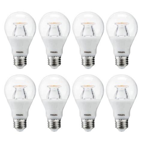 clear led light bulbs 60 watt philips 60 watt equivalent a19 led light bulb white