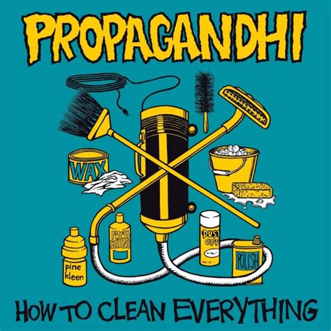 how to clean in music propagandhi