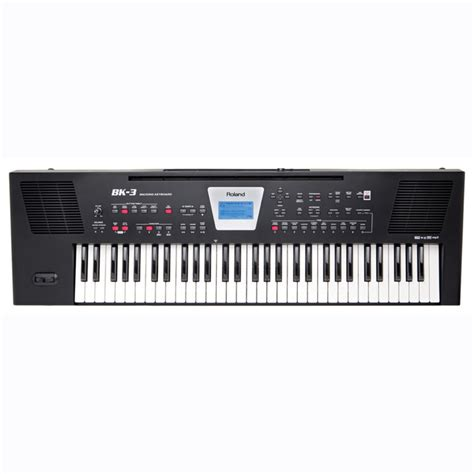 Keyboard Roland Mini roland bk 3 compact backing keyboard black at gear4music