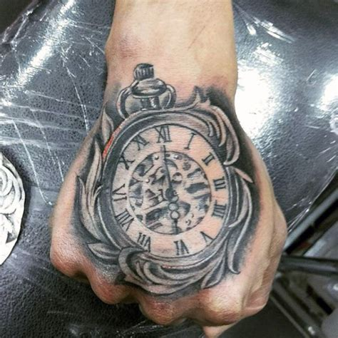 Tattoo Meaning Watch | 200 popular pocket watch tattoo and meanings 2017