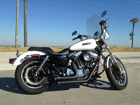 Harley Davidson White Silver 1 2008 harley davidson 174 xl1200l sportster 174 1200 low pearl white silver jacksonville florida