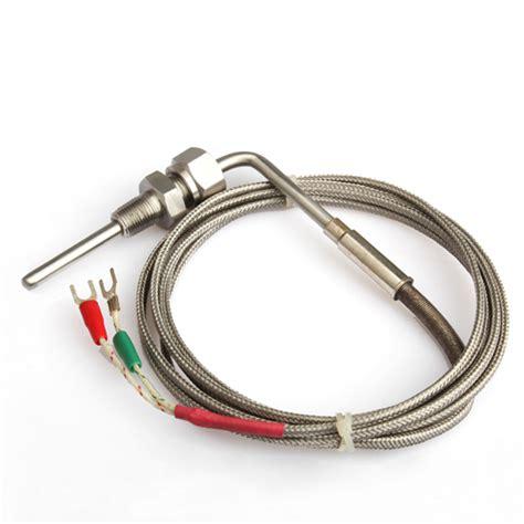 Probe Sensor Thermocouple Probe Digital Temperature K Type 50650 2m egt k type thermocouple exhaust probe high temperature sensors threads new