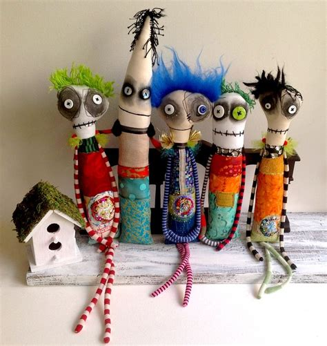 Handmade Paintings - 25 best ideas about cloth dolls on