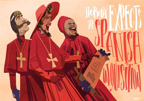 Monty Chair Miki Montll 243 The Spanish Inquisition Wallpaper