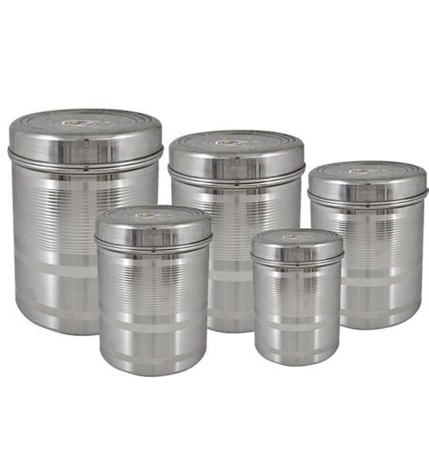 gbs3024 helix 4 piece canister set kitchen canisters products stainless steel kitchen canister set stainless steel