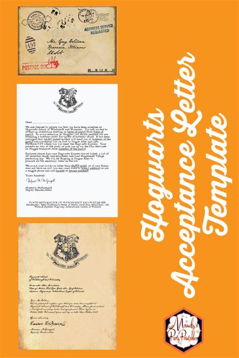 printable hogwarts invitation template