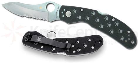 spyderco ocelot for sale spyderco ocelot for sale 28 images 3 1 4 quot partially serrated drop point blade spyderco
