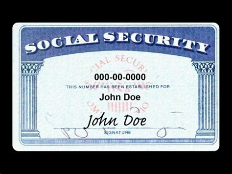 free printable social security card template 5 best images of social security cards printable