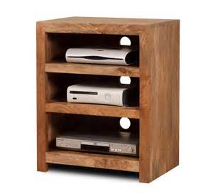 Small Walnut Bookcase Dakota Light Mango Low Hifi Shelving Unit With Shelves