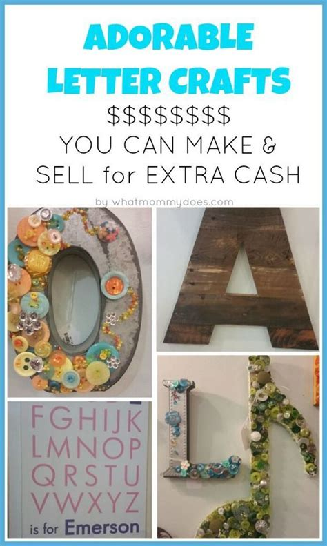 crafts for to sell letter crafts make and sell and craft shop on